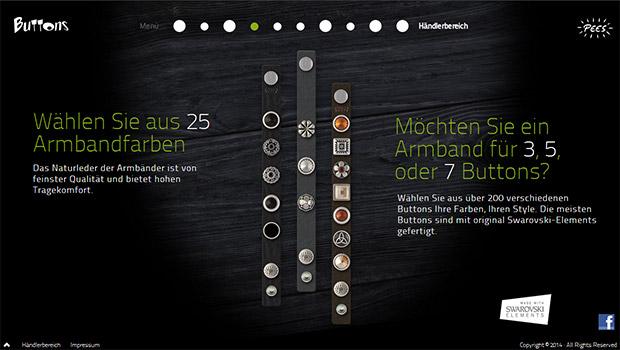 Buttons-baender