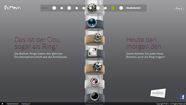 Buttons-ringe