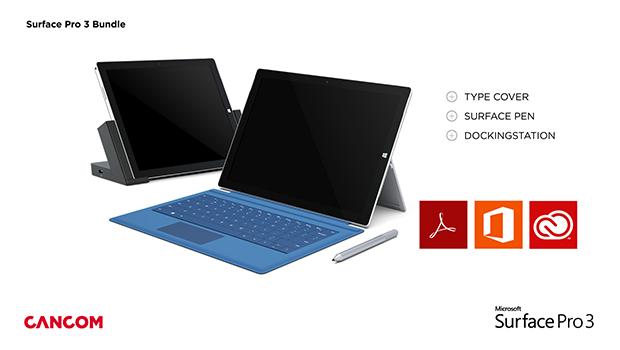 Vorschaubild: Surface Pro 3 im Bundle
