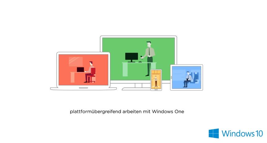 Auf allen Geräten dank Windows One