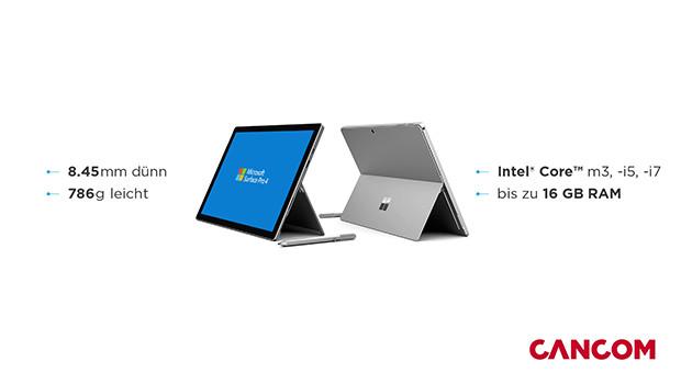 Vorschaubild: CANCOM Microsoft Surface Pro 4