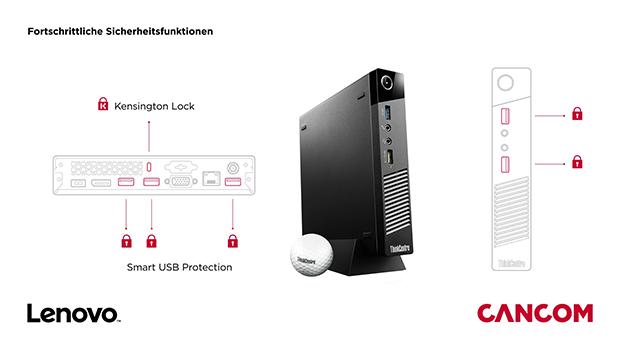 Vorschaubild: CANCOM – Lenovo Tiny – Intel® Unite™